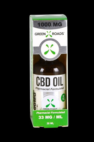 1000mg - Green Roads CBD Oil Tincture - 6 Pack