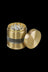 "Gold - Grindhouse 2.2"" Aluminum 4pc Grinder with Side Window"