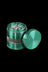 "Green - Grindhouse 2.2"" Aluminum 4pc Grinder with Side Window"