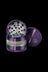 "Purple - Grindhouse 2.5"" Aluminum 4pc Grinder with Stash Window"