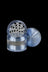 "Blue - Grindhouse 2.5"" Aluminum 4pc Grinder with Stash Window"