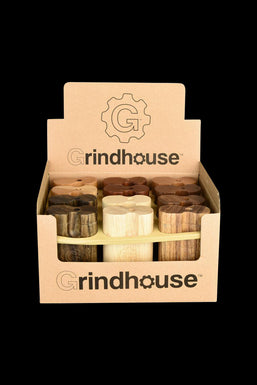 Grindhouse Wood Dugout with Twist Top - 12 Pack
