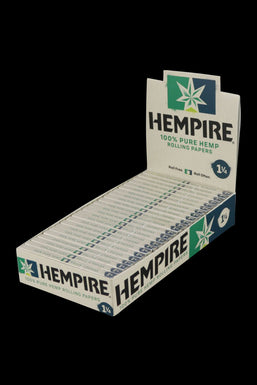 "Hempire Hemp Rolling Papers (1 1/4"") - 24 Pack"