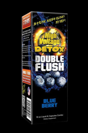Blueberry - High Voltage Detox Double Flush Combo