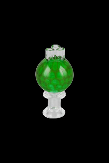 Green - Honeycomb Triple Stem Bubble Carb Cap