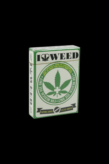 I Heart Weed Playing Cards