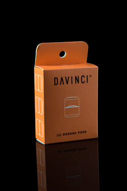 DaVinci 6 Piece Dosage Pods - Refill Kit for IQ2