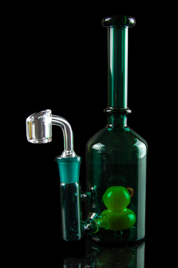 "The ""Dabbing Ducky"" Rubber Ducky Perc Dab Rig - The ""Dabbing Ducky"" Rubber Ducky Perc Dab Rig"