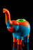 """Ellie"" The Silicone Elephant Bubbler Pipe - ""Ellie"" The Silicone Elephant Bubbler Pipe"