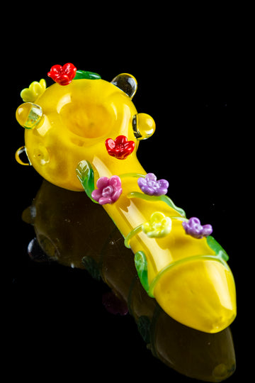 "Empire Glassworks ""Sunshine Garden"" Spoon Pipe - Empire Glassworks ""Sunshine Garden"" Spoon Pipe"