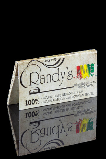 Randy's Roots Wired Natural Hemp Rolling Papers - Randy's Roots Wired Natural Hemp Rolling Papers