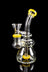 Dank Gals Mini Beaker Pipe with Colored Accents - Dank Gals Mini Beaker Pipe with Colored Accents