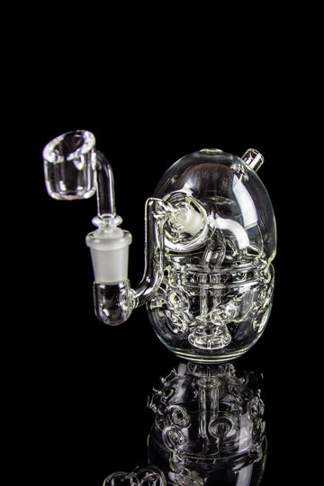 "The ""Fab Mini"" Faberge Egg-Style Bubbler Pipe - The ""Fab Mini"" Faberge Egg-Style Bubbler Pipe"