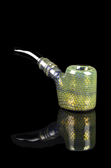 """Alligator Skin"" Colorful Patterned Sherlock Pipe - ""Alligator Skin"" Colorful Patterned Sherlock Pipe"