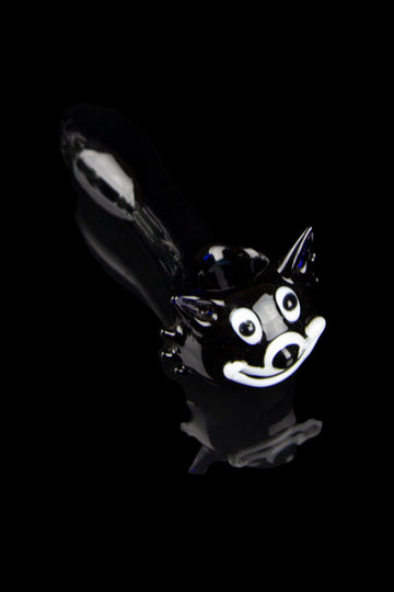 """Kooky Kat"" Black Cat Hand Pipe - ""Kooky Kat"" Black Cat Hand Pipe"