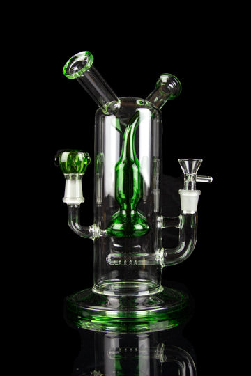 """Lover's Kiss"" Dual Bowl and Mouthpiece Water Pipe - ""Lover's Kiss"" Dual Bowl and Mouthpiece Water Pipe"