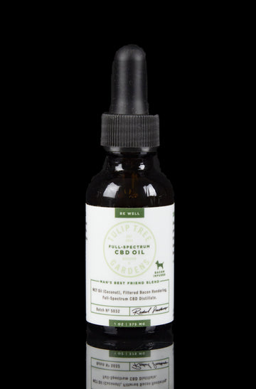 Tulip Tree Gardens Full Spectrum Pet CBD Oil - 375mg - Tulip Tree Gardens Full Spectrum Pet CBD Oil - 375mg