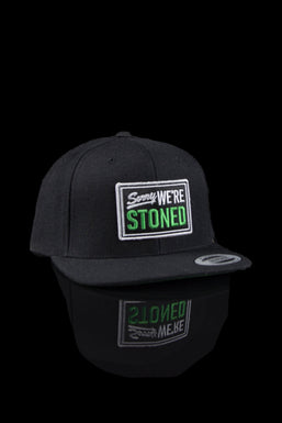 Cannabros Graphic Embroidered Snapback Cap
