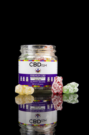 CBDism 1500mg CBD Gummy Bears - CBDism 1500mg CBD Gummy Bears