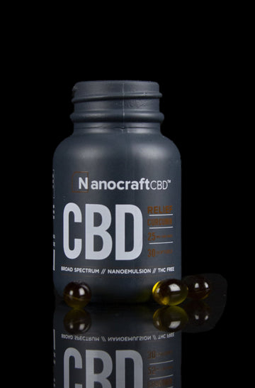 Nanocraft Curcumin CBD Softgels - Nanocraft Curcumin CBD Softgels