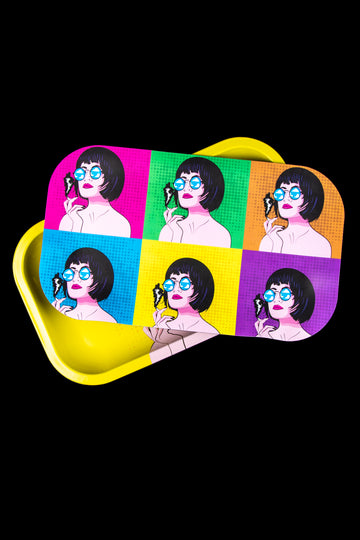 Ugly House Rolling Tray Bundle - Pop Art - Ugly House Rolling Tray Bundle - Pop Art