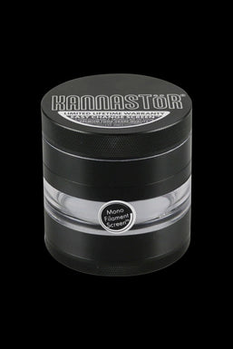 "Kannastor 2.5"" 4-Piece Grinder with Monofilament EZ Screen"