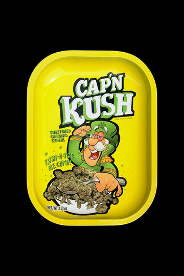 "Kill Your Culture ""Cap 'N' Kush"" Rolling Tray"