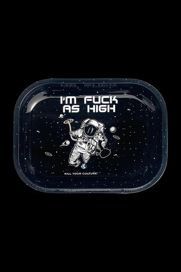 "Kill Your Culture ""Fuck As High"" Rolling Tray"