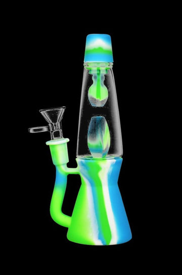 Lava Lamp Silicone Water Pipe