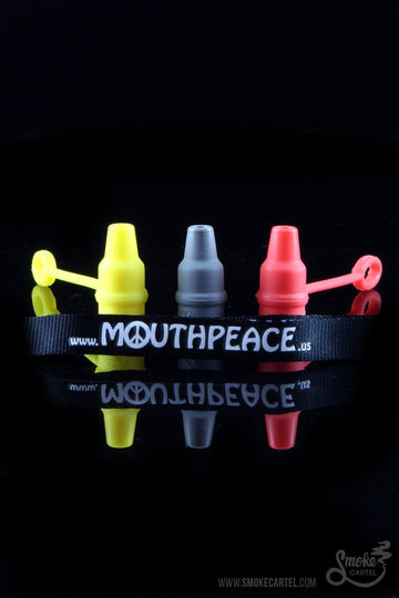 Yellow - MouthPeace Mini Silicone Mouth Piece - MouthPeace - - MouthPeace Mini Silicone Mouth Piece