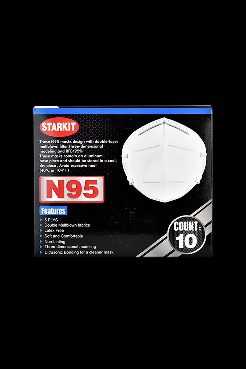 N95 Face Mask - 10 Pack Box