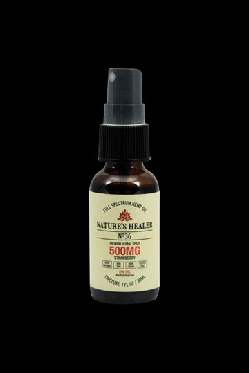 Nature's Healer No.36 CBD Tincture