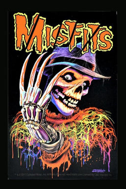 Nightmare on Misfits Street Sticker