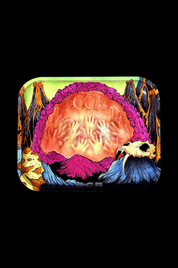 "Large - OCB ""Early Man"" Rolling Tray"