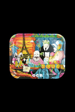 "OCB ""Cafe Culture"" Rolling Tray"