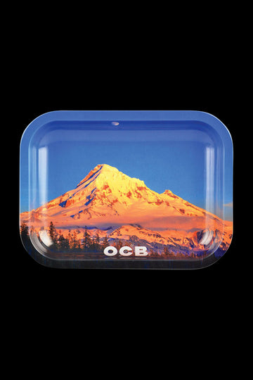 Small - OCB Rolling Tray Limited Edition - Mt. Hood