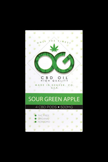Apple - OG Labs CBD Oil Pods - 4 Pack