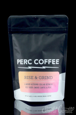 """""""Rise and Grind"""" Whole Bean Coffee by Perc Coffee"""