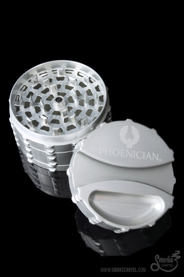 "Featured View - Silver - Phoenician Large 3.5"" 4 Piece Grinder"