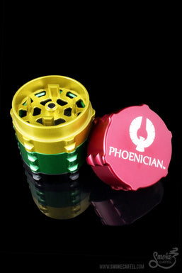 "Phoenician Small 2.0"" 4 Piece Grinder"