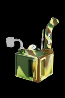 """Piecemaker """"Kube"""" Silicone Cube Dab Rig"""