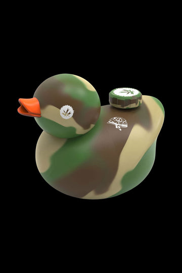 "Camouflage - Piecemaker ""Kwack"" Silicone Duck Water Pipe"