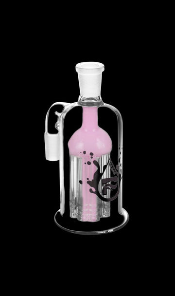 Pink - Pulsar 8 Arm Ash Catcher