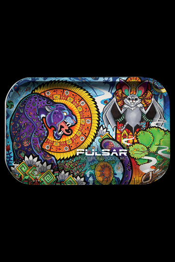 "Pulsar ""Psychedelic Jungle"" Metal Rolling Tray"