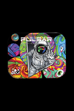"""Pulsar """"Psychedelic Spaceman"""" Large Rolling Tray"""