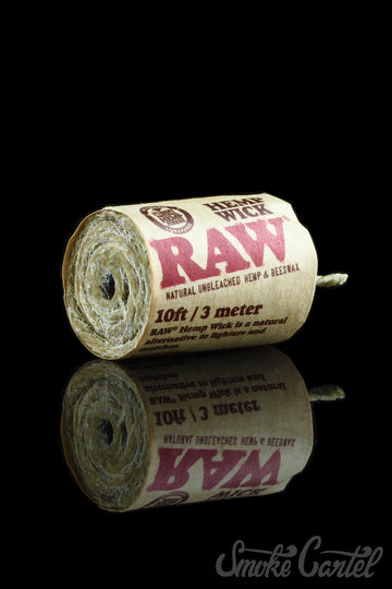 RAW Hemp Wick - RAW - - RAW Hemp Wick