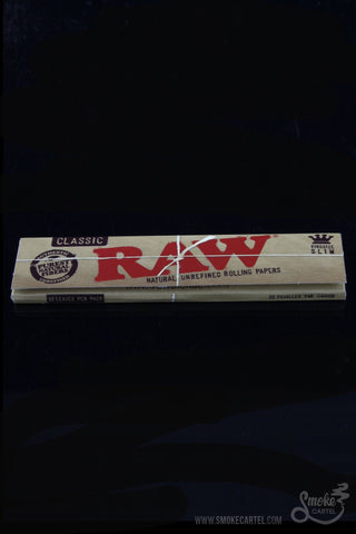 RAW King Size Slims Rolling Papers