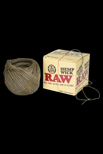 RAW Hempwick Ball - 100ft