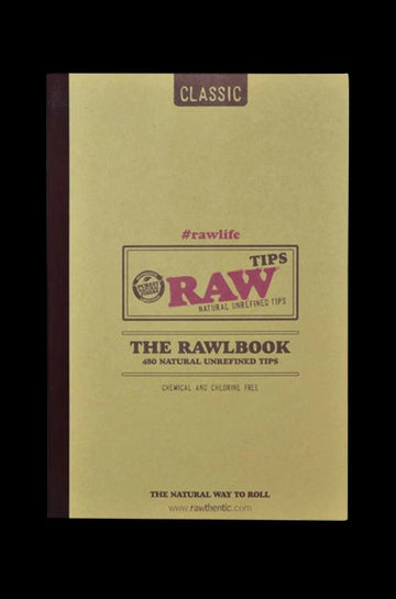 RAW RawlBook - Book of 420 Rolling Filter Tips