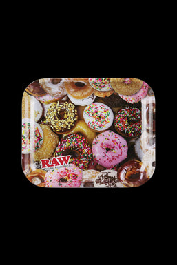 """RAW """"Donuts"""" Large Rolling Tray"""
